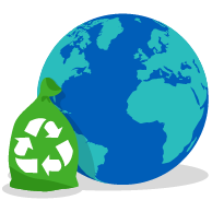 Planet Earth and re-cycling